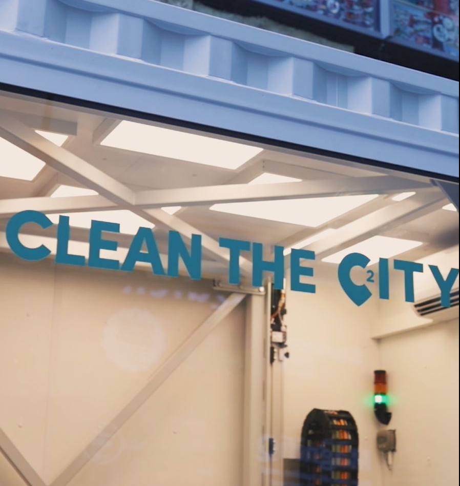 Clean the City: A City2 action for Zero Waste Belgium and the city centre