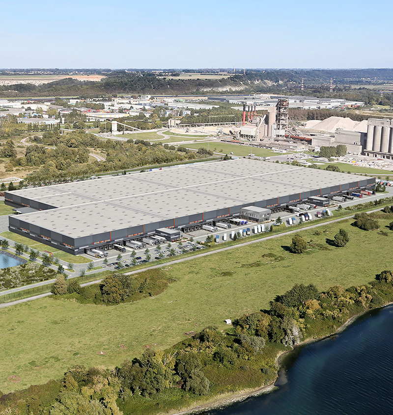 AG Real Estate France and PRD launch the construction of 90 000 m2 logistics platform