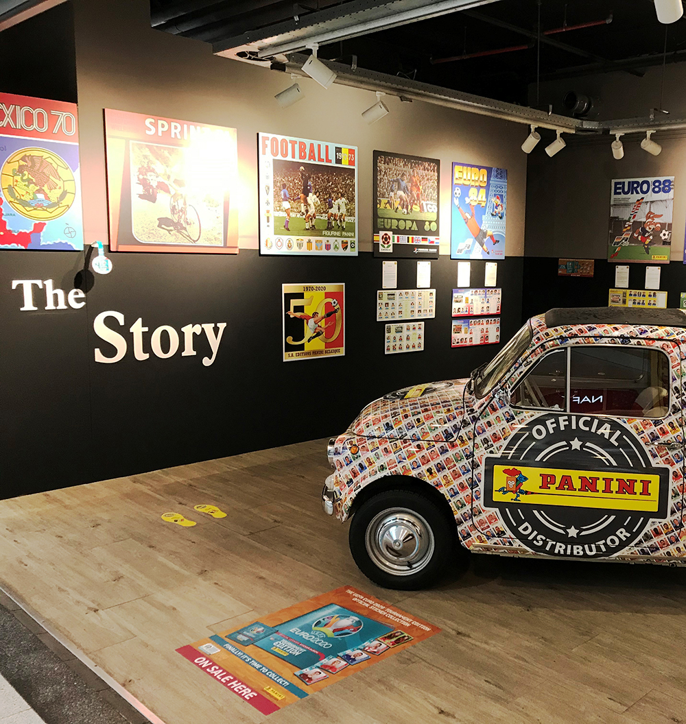 Panini, the Story. Une exposition, trois escales.